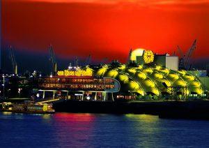 Das Stage Theater im Hafen Hamburg - Fotocredit: Stage Entertainment